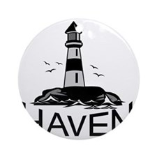 Unofficial Haven Logo Colored Round Ornament