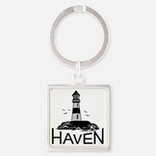 Unofficial Haven Logo Colored Square Keychain