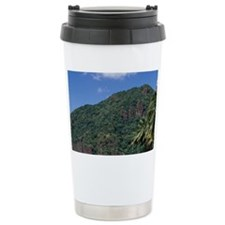 Caribbean, BWI, St. Lucia, Sail Travel Mug