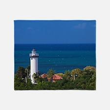 Puerto Rico, West Coast, Rincon, Pun Throw Blanket