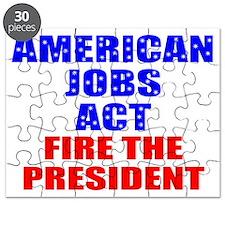 fire obama Puzzle