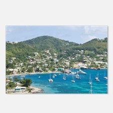 Bequia, St. Vincent and t Postcards (Package of 8)