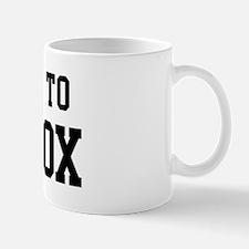 Belongs to Maddox Mug