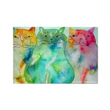 Haleiwa Cats 250 Rectangle Magnet