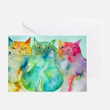 Haleiwa Cats 250 Greeting Card