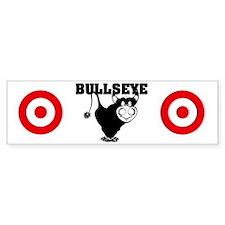 BullsEye panties Bumper Sticker