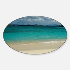 Sapphire Beach. View of St. John in Decal
