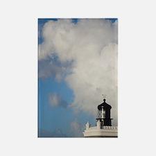 El Morro lighthousean, Old San Ju Rectangle Magnet