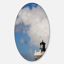 El Morro lighthousean, Old San Juan Decal