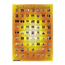 Poster - Founders of Sciencejpg 5'x7'Area Rug