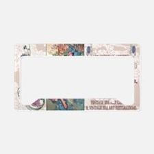 1 A MUCHA AUTUMN License Plate Holder