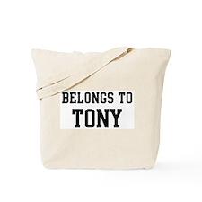 Belongs to Tony Tote Bag