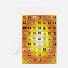 Founders of Science 23x35 RGB Greeting Card