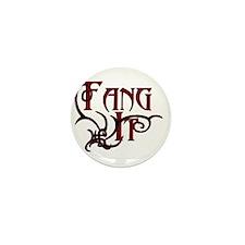 Fang It Mini Button