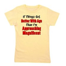 Better With Age Girl's Tee