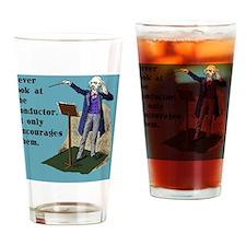 pillowNeverLook Drinking Glass