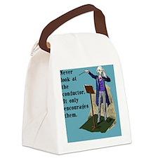 pillowNeverLook Canvas Lunch Bag