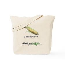 I Shuck Good.gif Tote Bag