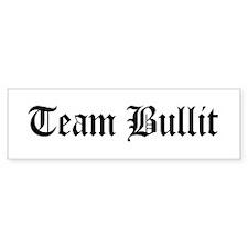 Team Bullit Bumper Car Sticker