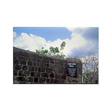 Alexander Hamilton birthplace Cha Rectangle Magnet