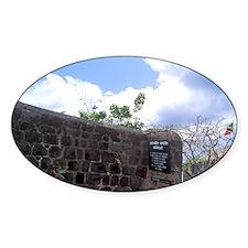 Alexander Hamilton birthplace Charl Decal