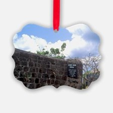 Alexander Hamilton birthplace Cha Ornament