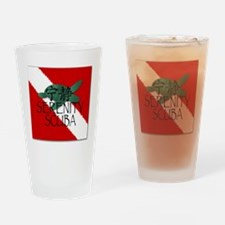 Embroidery Logo Drinking Glass