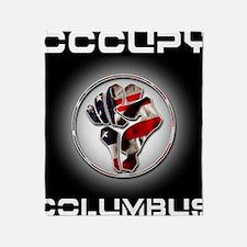 occupyColumbus Throw Blanket