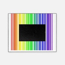 rainbow barcode Picture Frame
