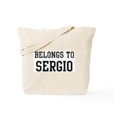 Belongs to Sergio Tote Bag