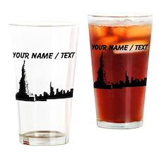 Custom New York City Drinking Glass