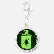 CIA-Screensaver_1 Silver Round Charm