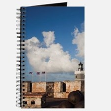El Morro lighthouse and canonballsn, San F Journal