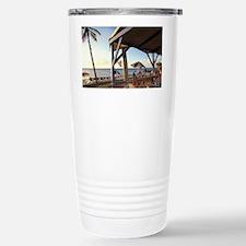Croix, Rainbow Beach. Sunset Gr Travel Mug