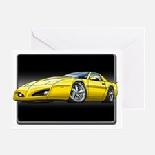 91_92_Firebird_Yellow Greeting Card