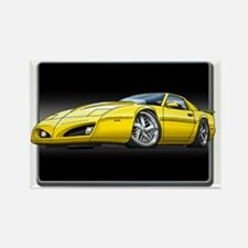 91_92_Firebird_Yellow Rectangle Magnet