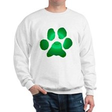 cat green Sweatshirt