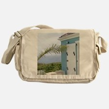 Bedroom overlooking the seas, St. Cr Messenger Bag