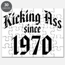 Kicking Ass Since 1970 Puzzle
