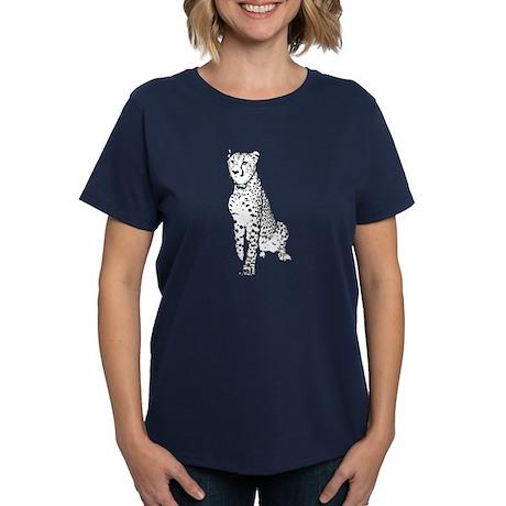 Cheetah Women's Dark T-Shirt