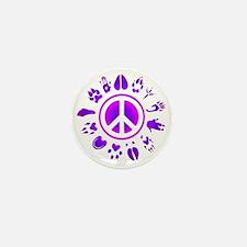 furry peace2 Mini Button