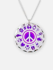 furry peace2 Necklace