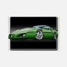 91_92_Firebird_Green Rectangle Magnet