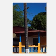 House with Puerto Rican f Postcards (Package of 8)