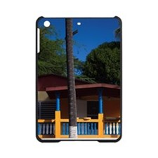 House with Puerto Rican flag mural  iPad Mini Case