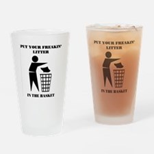 LITTER Drinking Glass