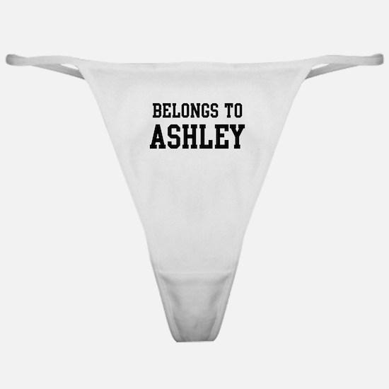 Belongs to Ashley Classic Thong