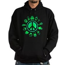 furry peace3 Hoodie