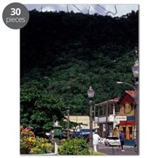 Caribbean, BWI, St. Lucia, Waterfront, Souf Puzzle
