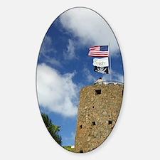National Historic Landmarklotte Ama Sticker (Oval)